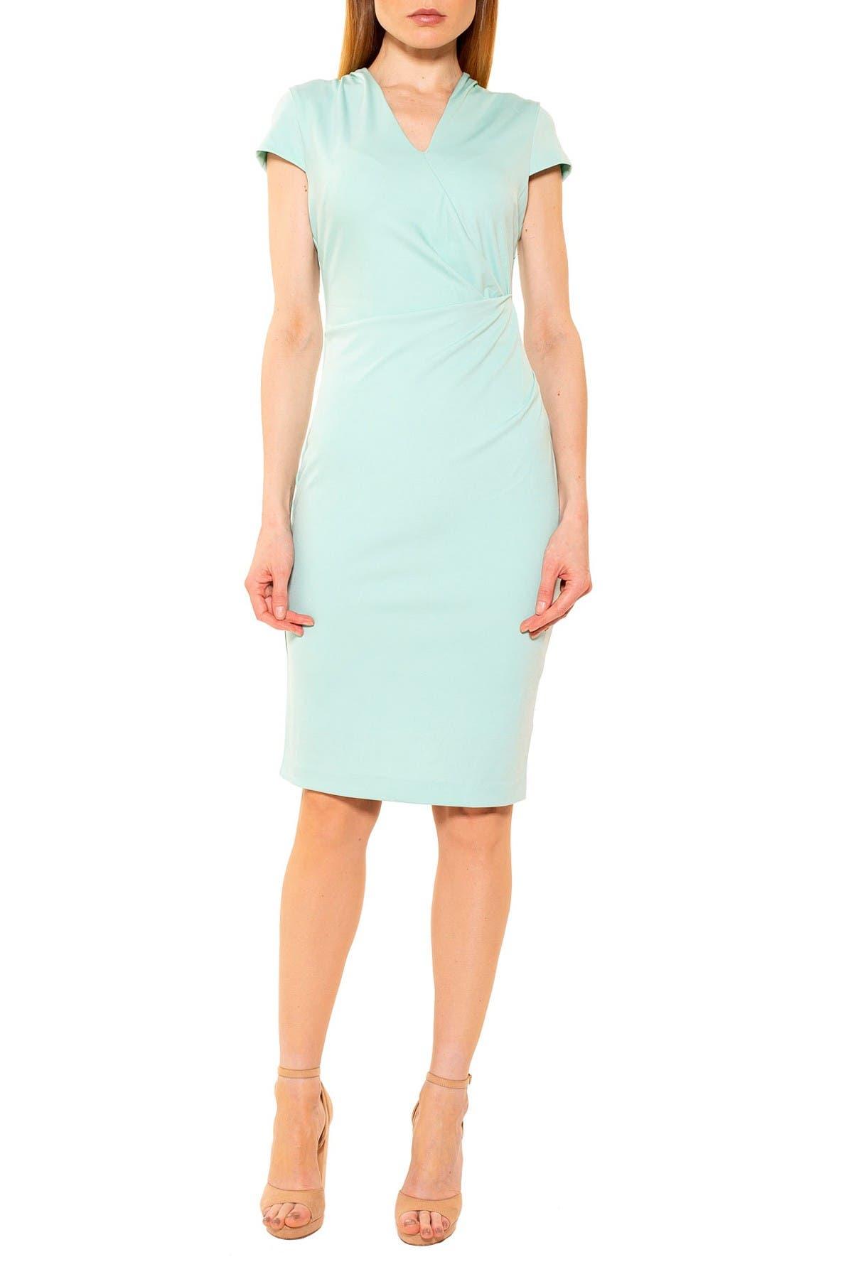Image of Alexia Admor Kinsley Cap Sleeve Sheath Dress