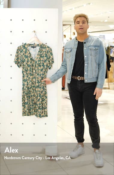 Tahki Meadow Floral Jersey Dress, sales video thumbnail