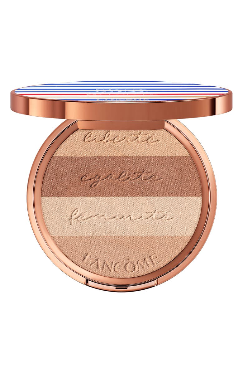 LANCÔME Liberty, Equality and Femininity Le French Glow Bronzing Palette, Main, color, 220