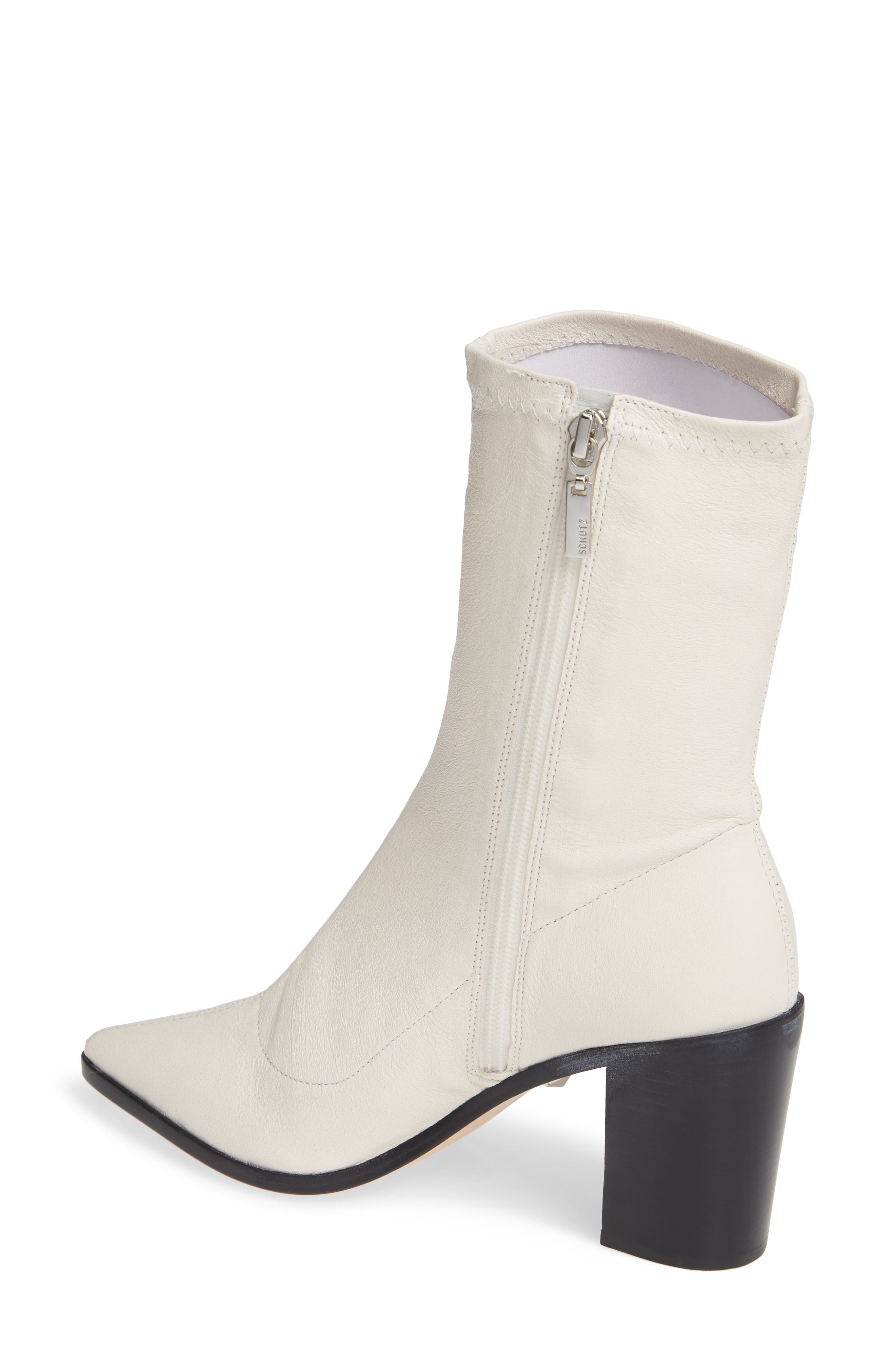 ,                             Amellie Pointy Toe Bootie,                             Alternate thumbnail 8, color,                             100