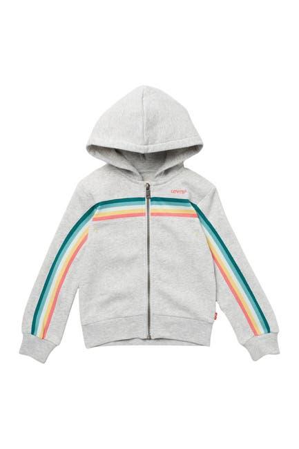 Image of Levi's Full Zip Rainbow Hoodie
