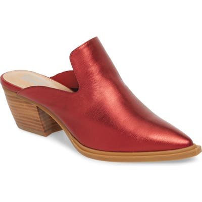 Sbicca Louisa Loafer Mule, Red