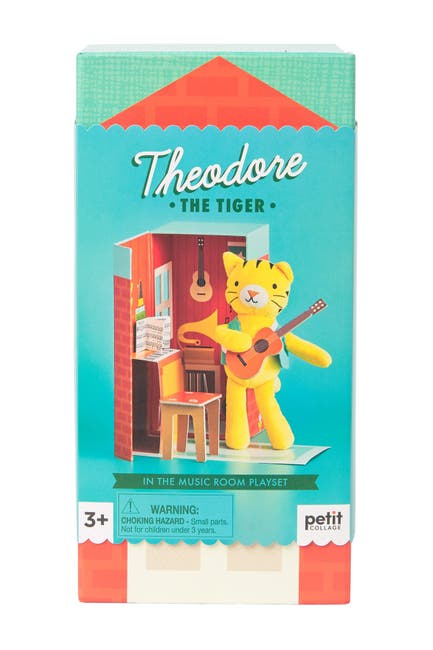 Image of WILD AND WOLF Theodore The Tiger Play Set