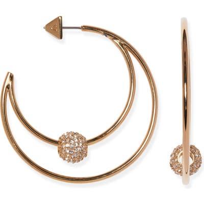 Vince Camuto Rondelle Hoop Earrings
