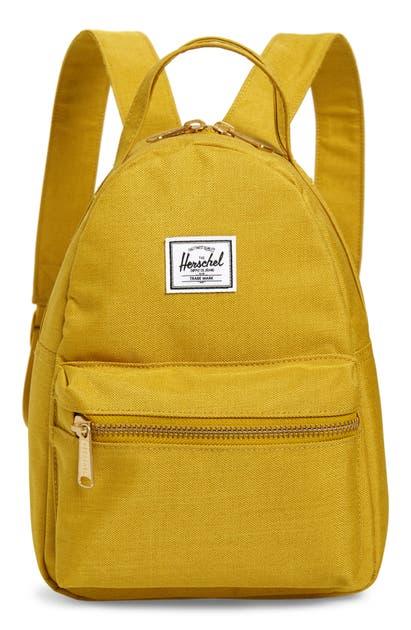 Herschel Supply Co. Backpacks MINI NOVA BACKPACK - YELLOW