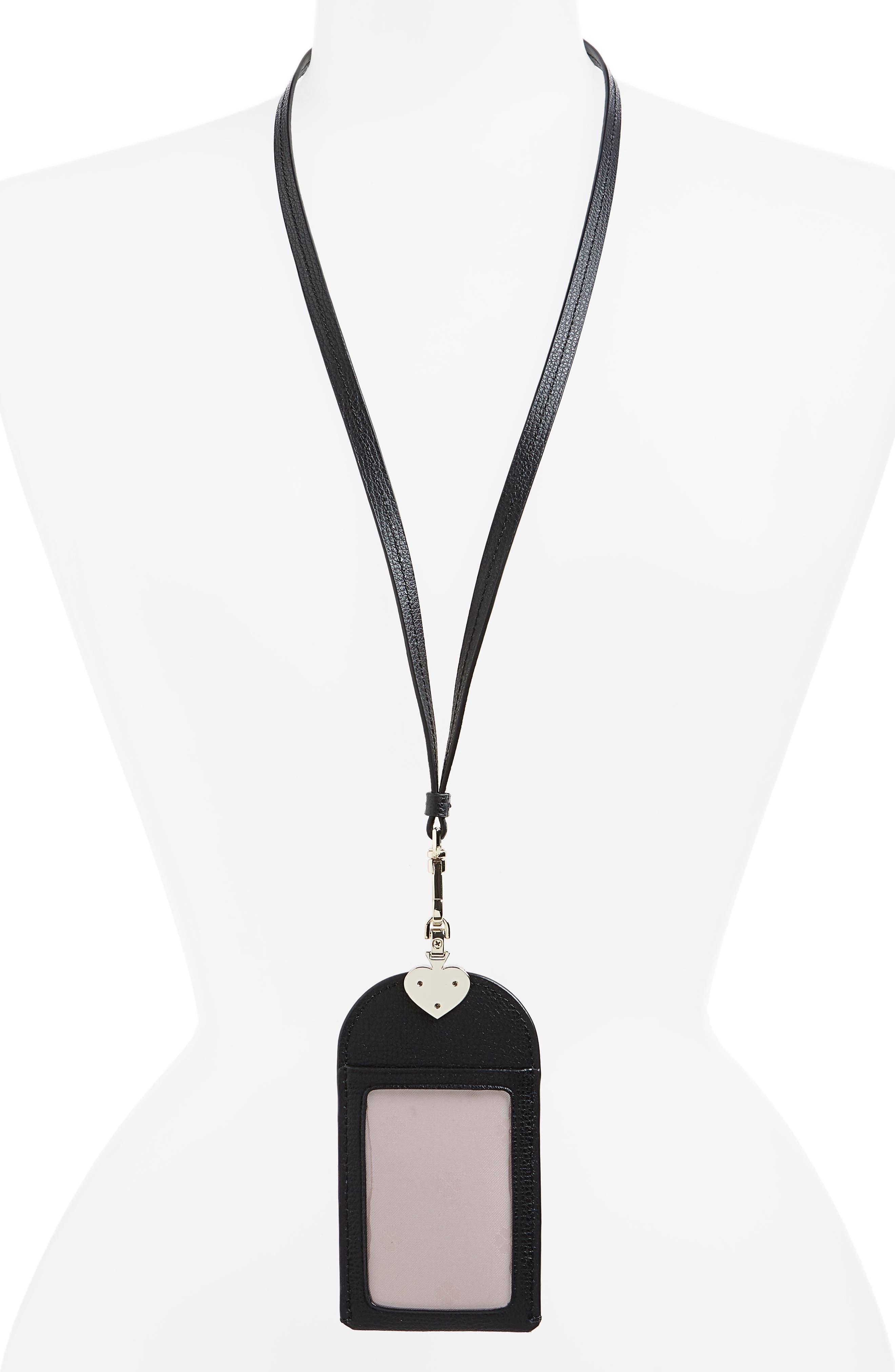 ,                             sylvia lanyard,                             Alternate thumbnail 2, color,                             BLACK