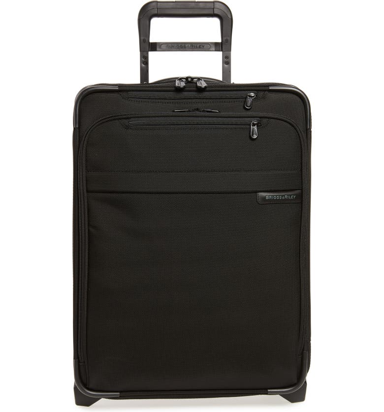 BRIGGS & RILEY Baseline International 22-Inch Expandable Rolling Carry-On, Main, color, BLACK