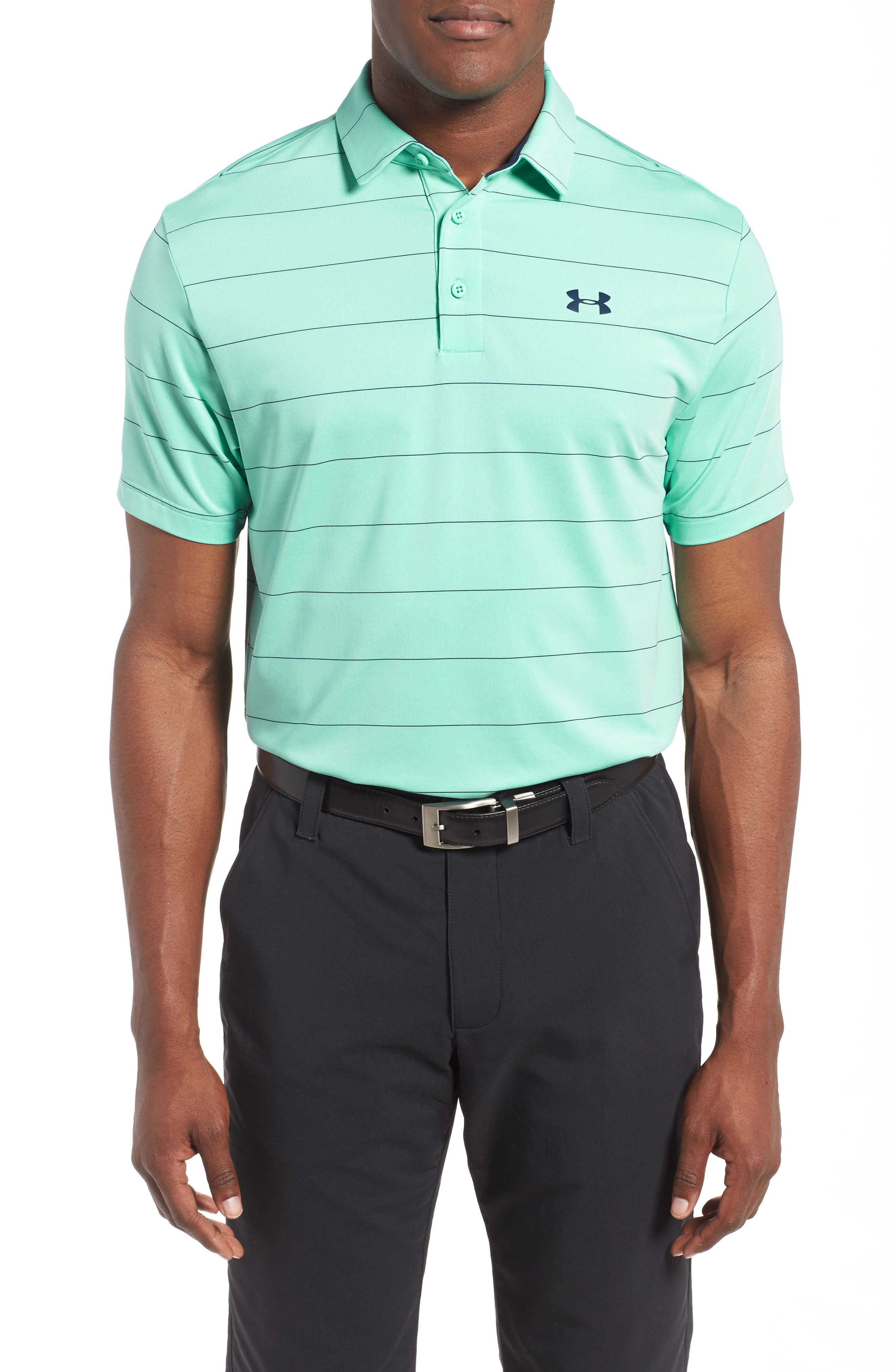 ,                             'Playoff' Loose Fit Short Sleeve Polo,                             Main thumbnail 166, color,                             343