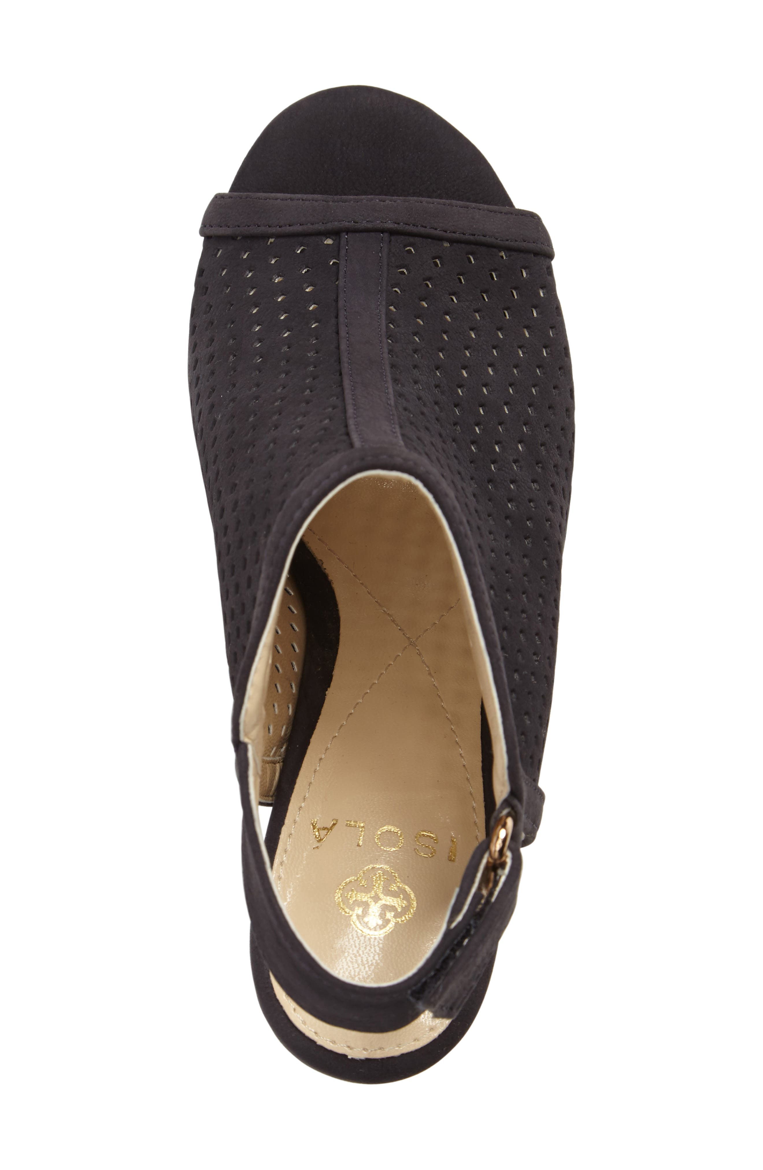 ,                             'Lora' Perforated Open-Toe Bootie Sandal,                             Alternate thumbnail 22, color,                             410