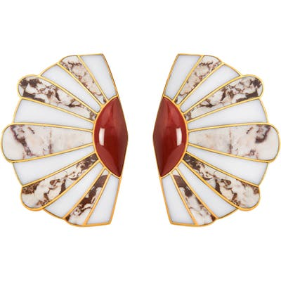 Monica Sordo Mullu Ear Fan Earrings