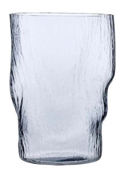 Image of Nude Glass Barduck Long Drink Glasses - Steel Blue - Set of 2