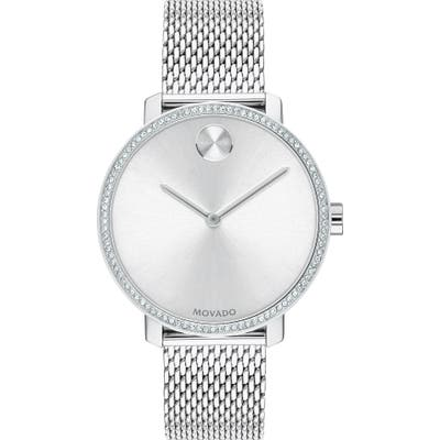 Movado Bold Mesh Strap Watch,
