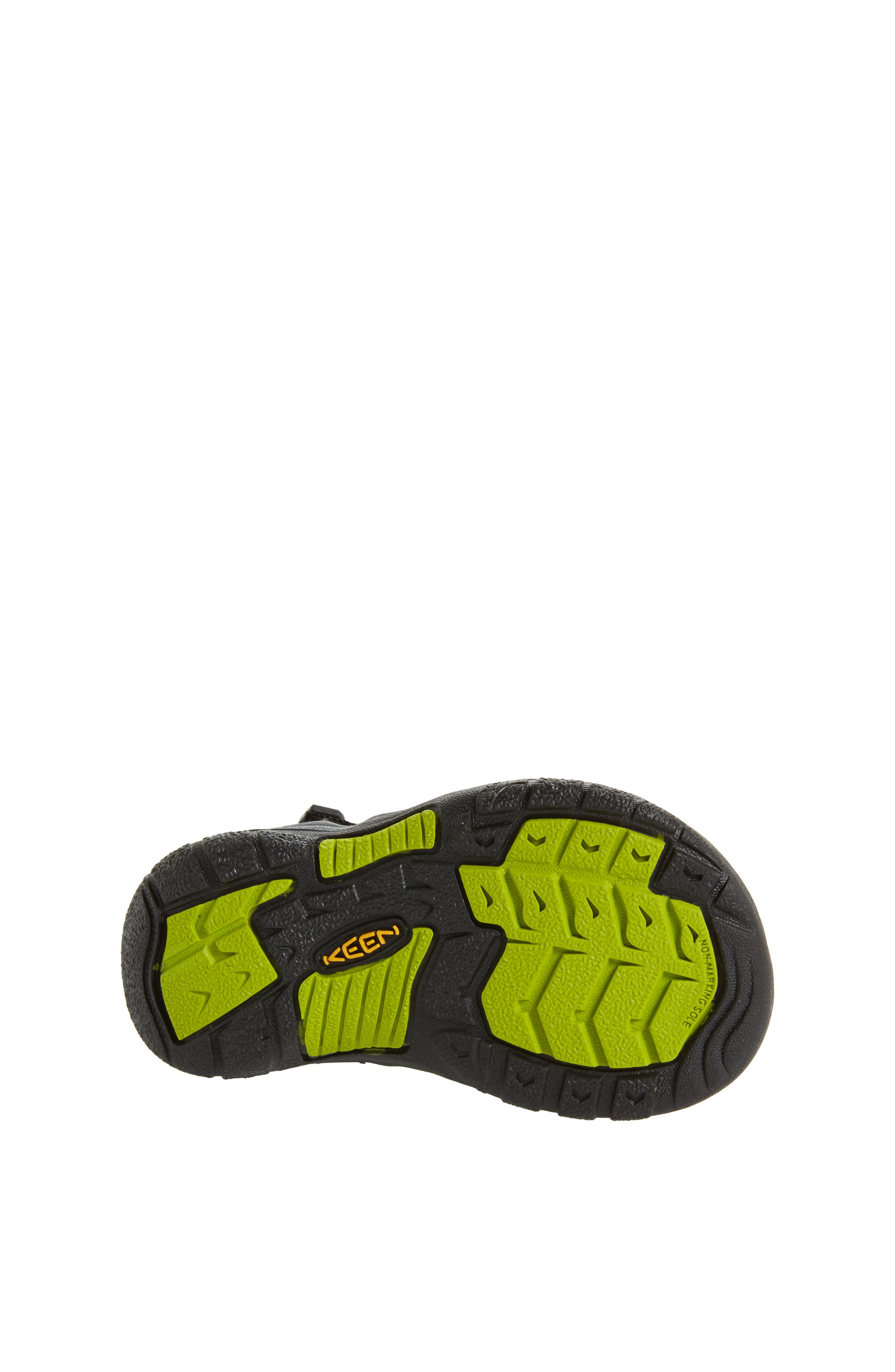 ,                             'Newport H2' Water Friendly Sandal,                             Alternate thumbnail 4, color,                             BLACK LIME