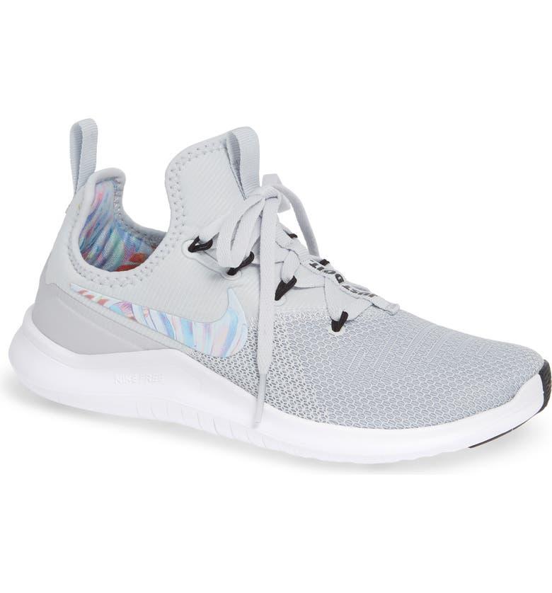 NIKE Free TR8 Training Shoe, Main, color, PURE PLATINUM/ PLATINUM-BLACK