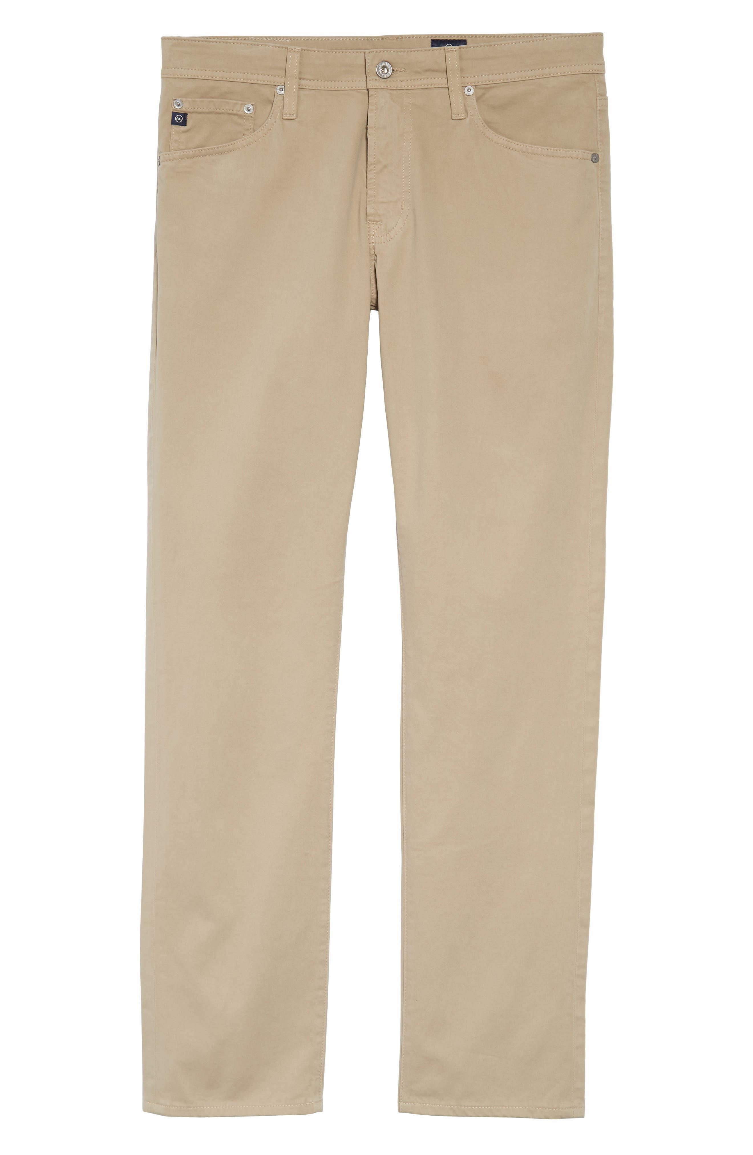 Graduate SUD Slim Straight Leg Pants, Main, color, KHAKI
