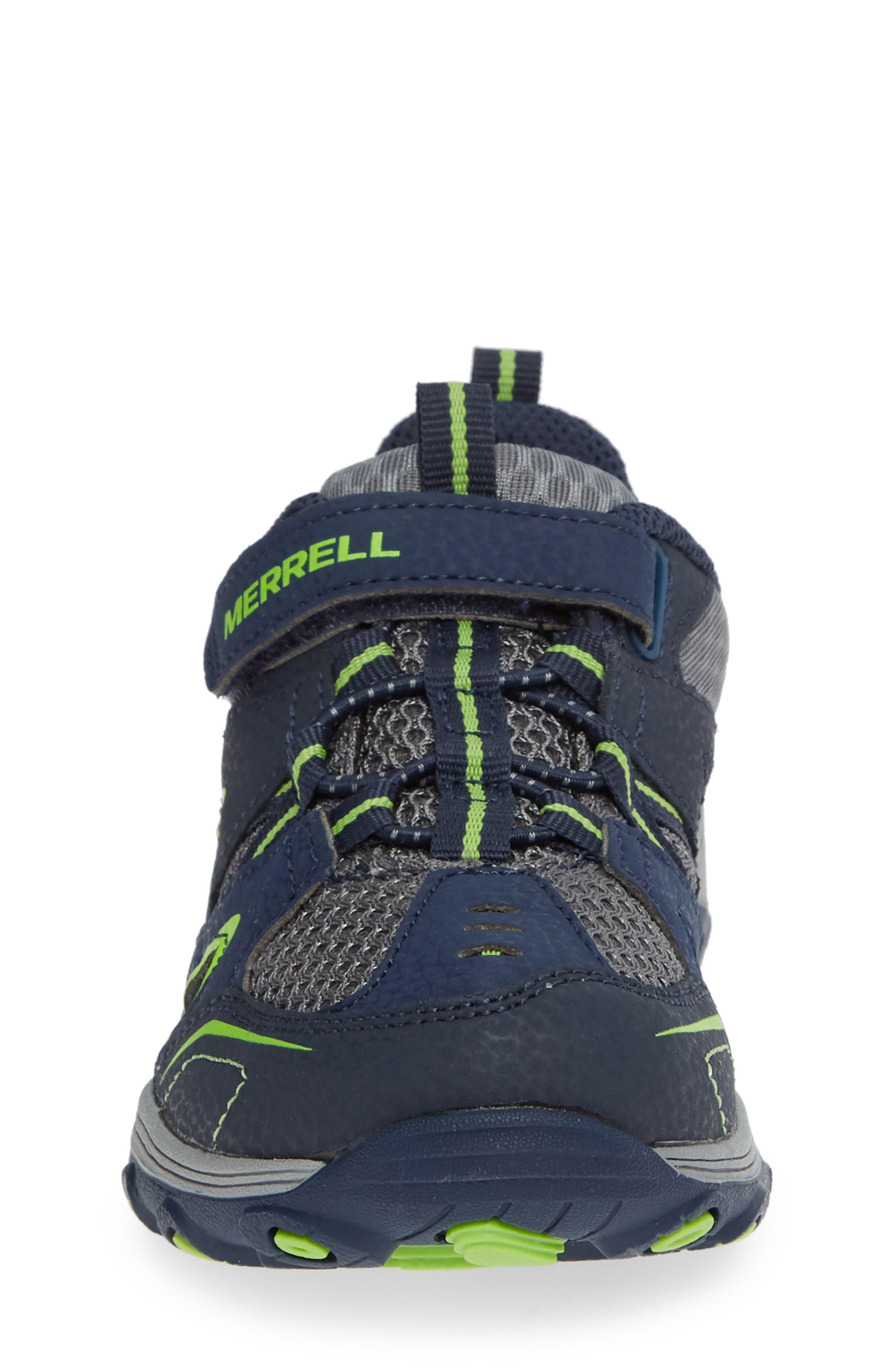 ,                             Trail Chaser Sneaker,                             Alternate thumbnail 4, color,                             NAVY/ GREEN