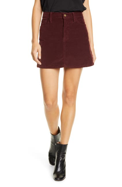 Image of FRAME Le Mini Corduroy Skirt