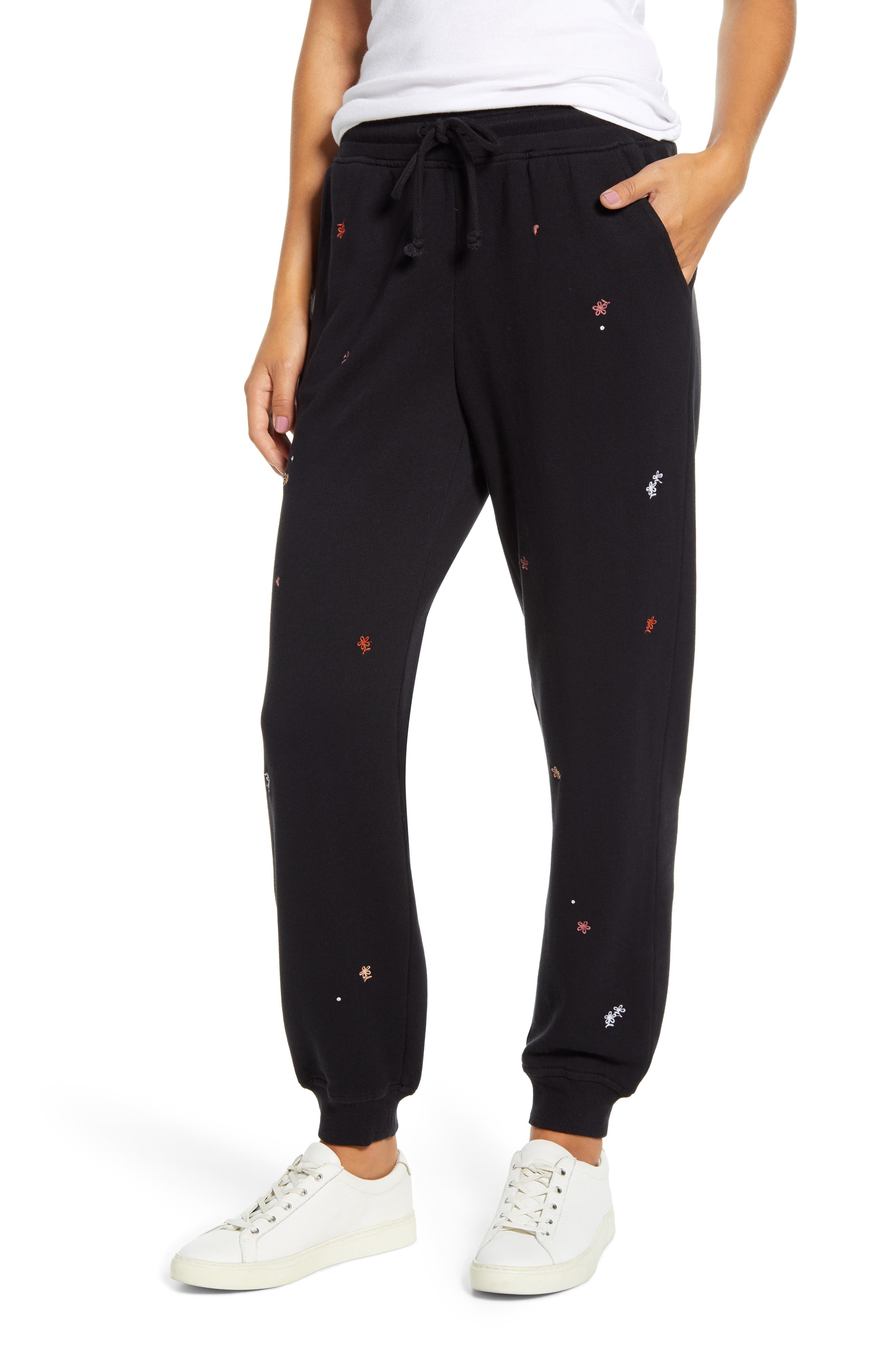 Women's Lou & Grey Embroidered Sweatpants