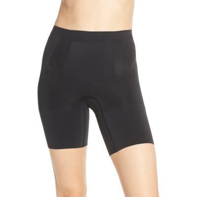 Spanx Oncore Mid Thigh Shorts, Black