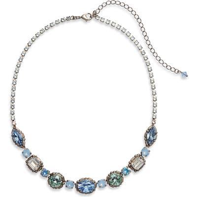 Sorrelli Cardoon Crystal Station Necklace