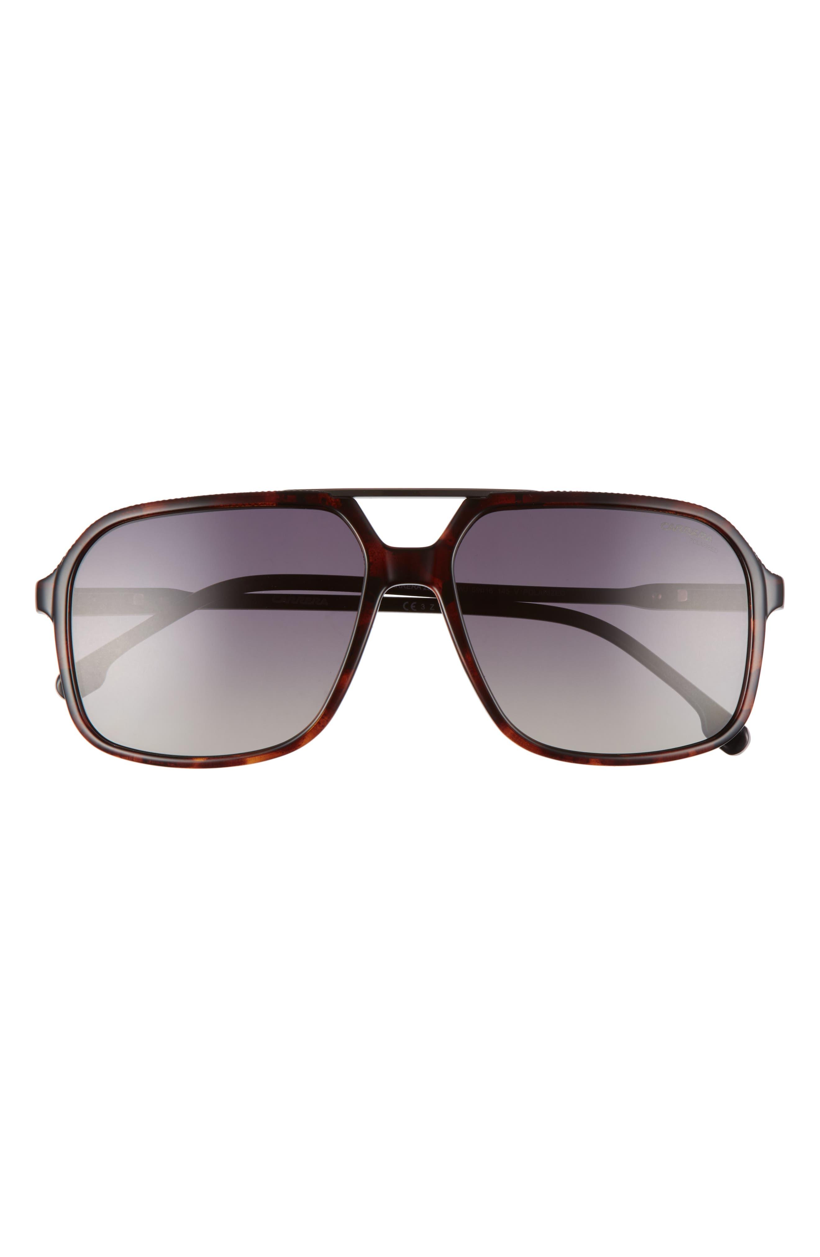 59mm Gradient Aviator Sunglasses