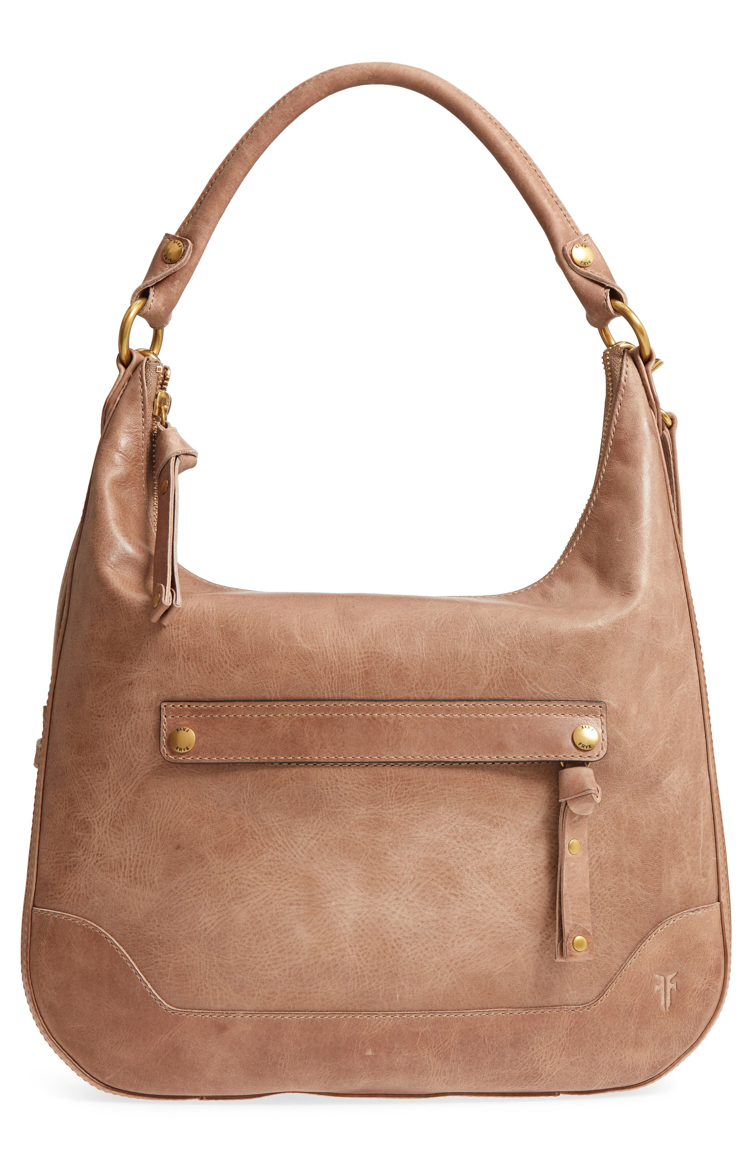 ,                             Melissa Large Leather Hobo,                             Main thumbnail 8, color,                             259