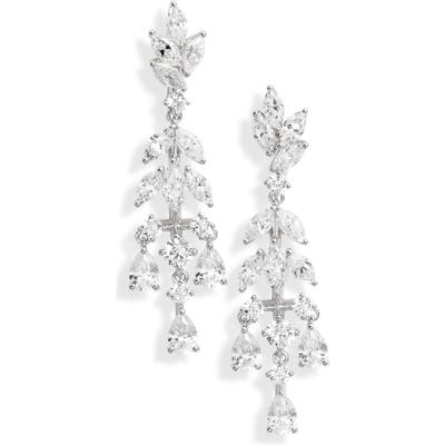 Nadri Bouquet Small Chandelier Earrings