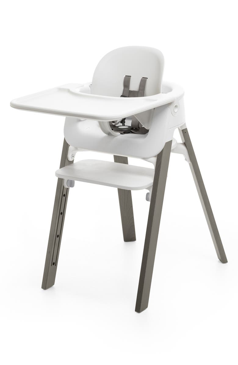STOKKE Steps<sup>™</sup> High Chair & Tray, Main, color, GREY
