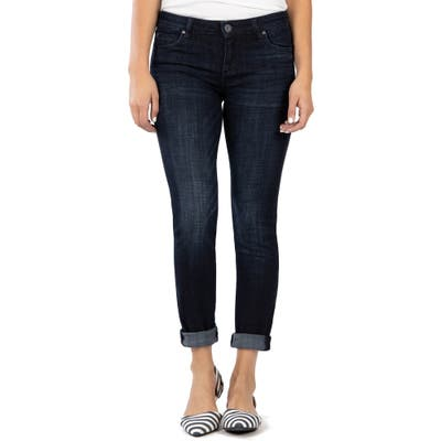 Petite Kut From The Kloth Catherine Boyfriend Jeans, Blue