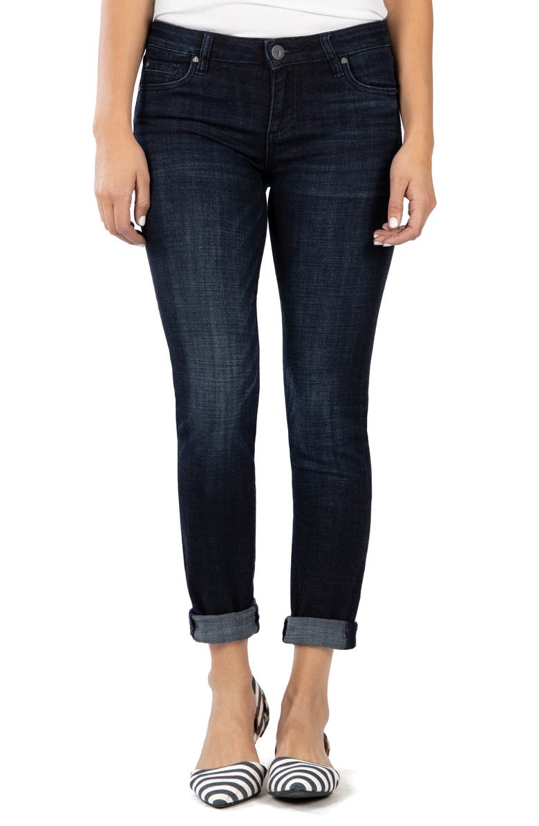 KUT FROM THE KLOTH Catherine Boyfriend Jeans, Main, color, DEPTH