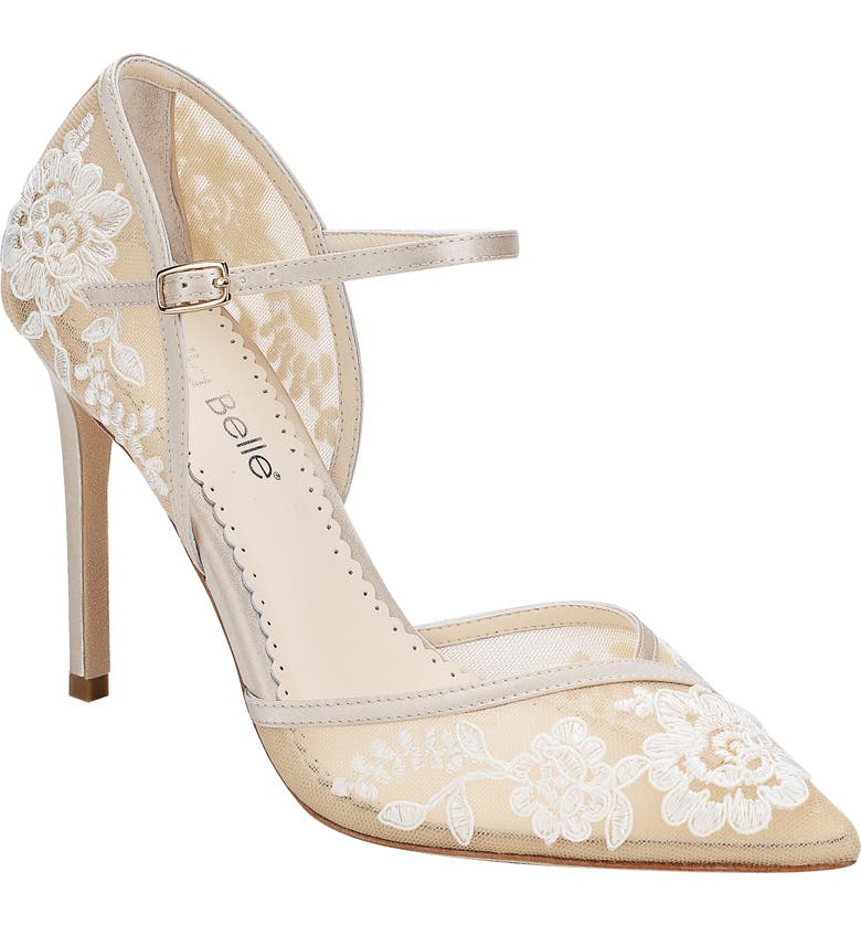 Claudia Embroidered Pump by Bella Belle