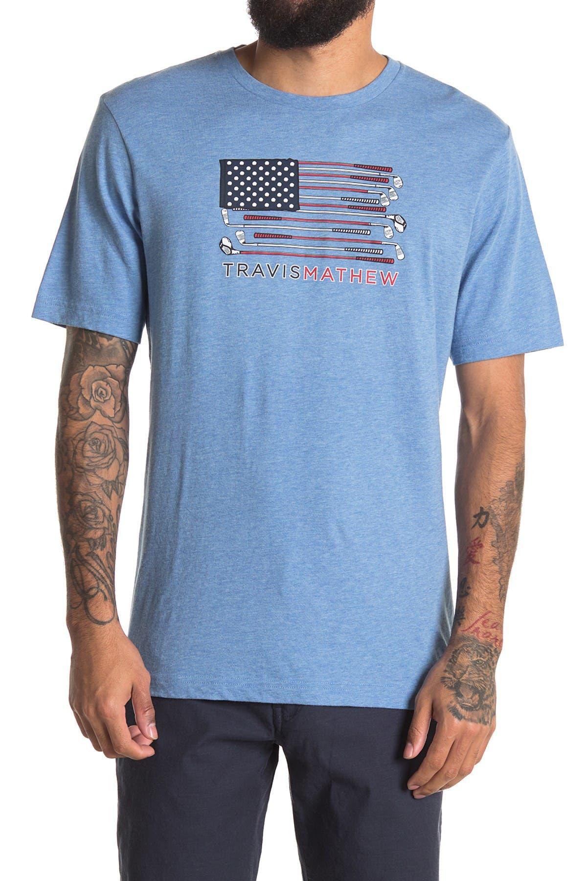 Image of TRAVIS MATHEW Tea Party Short Sleeve Shirt