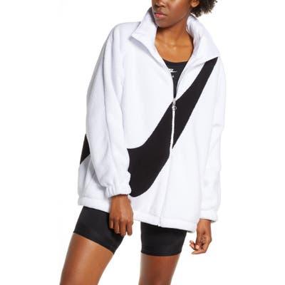 Nike Sportswear Swoosh Reversible Faux Shearling Jacket
