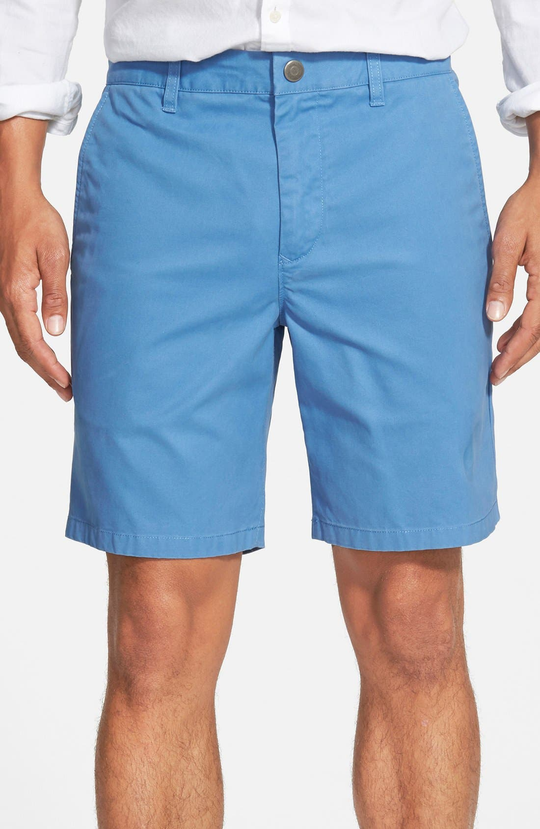,                             Washed Chino Shorts,                             Main thumbnail 57, color,                             410
