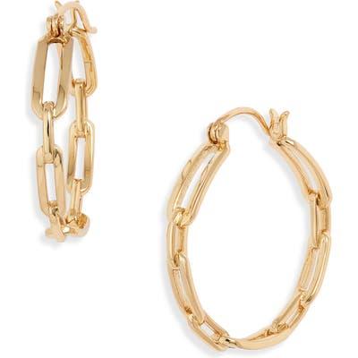 Gorjana Parker Link Hoop Earrings
