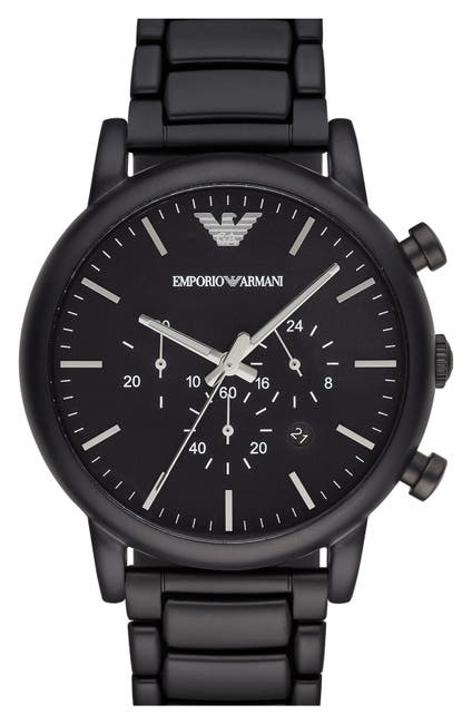 Image of Emporio Armani Men's Luigi Chronograph Watch, 46mm