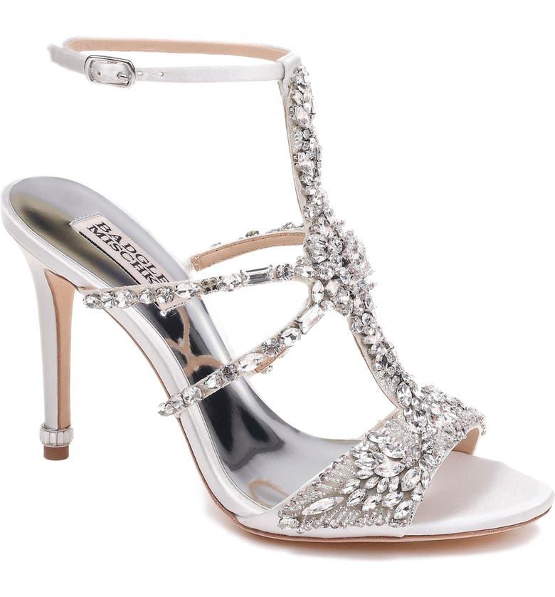 21f8cbbf0 Badgley Mischka Hughes Crystal Embellished Sandal (Women) | Nordstrom