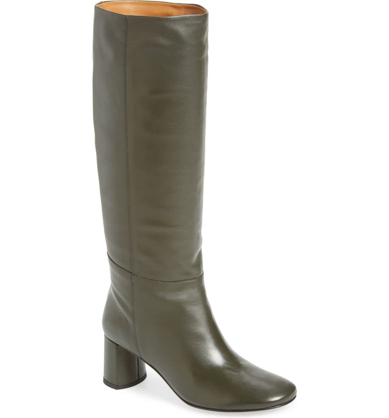 LOQ Donna Knee High Boot, Main, color, PINO LEATHER