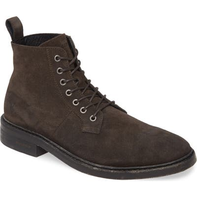 Allsaints Mid Plain Toe Boot, Grey
