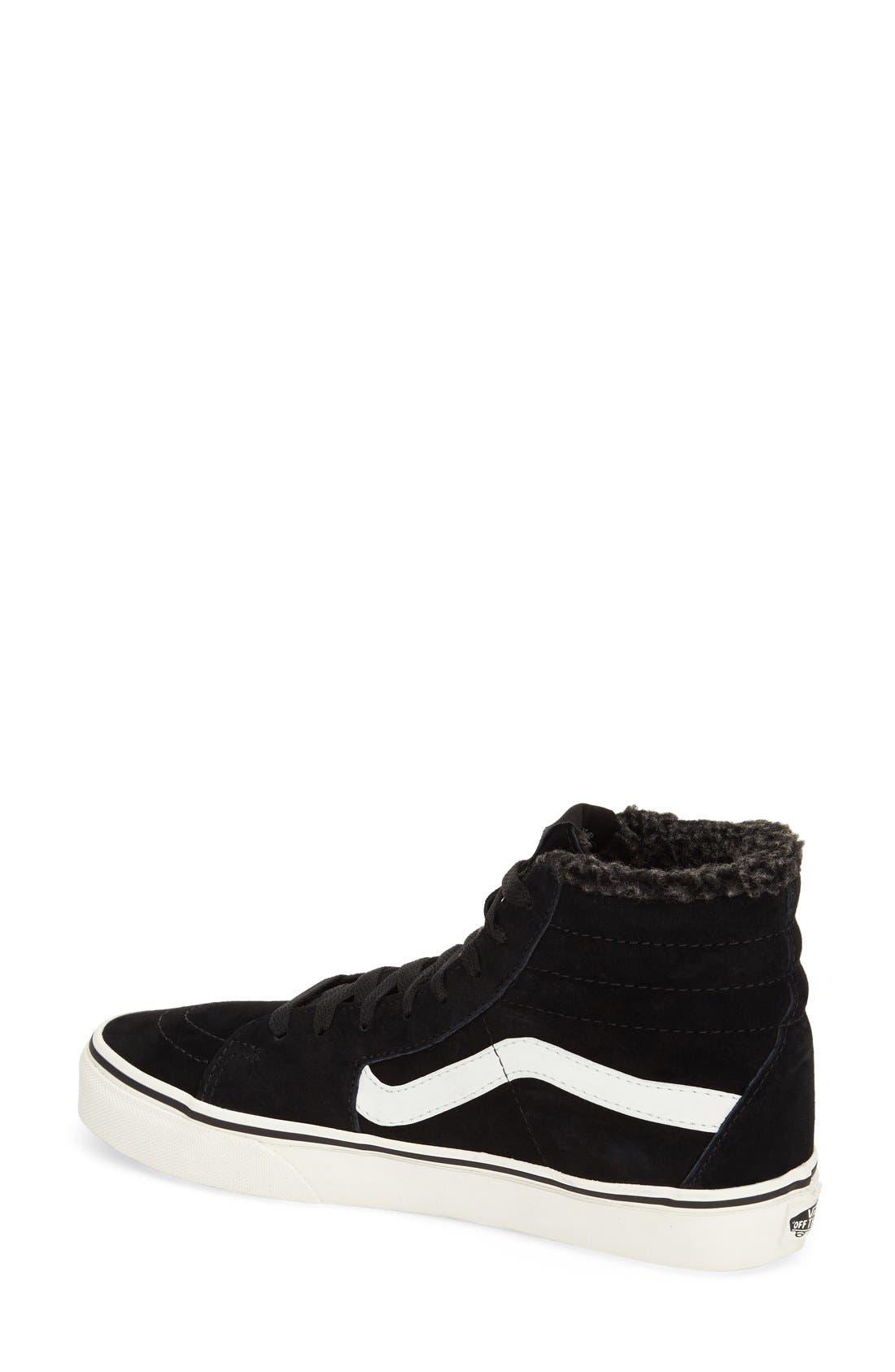 ,                             Sk8-Hi Checker Sneaker,                             Alternate thumbnail 15, color,                             001