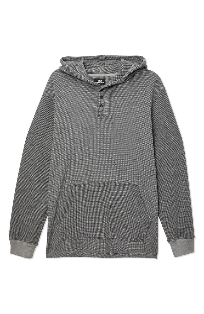 O'NEILL Olympia Hooded Pullover, Main, color, HEATHER LIGHT GREY
