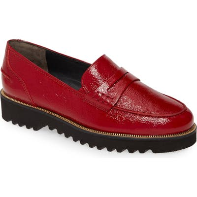 Paul Green Camm Loafer - Red