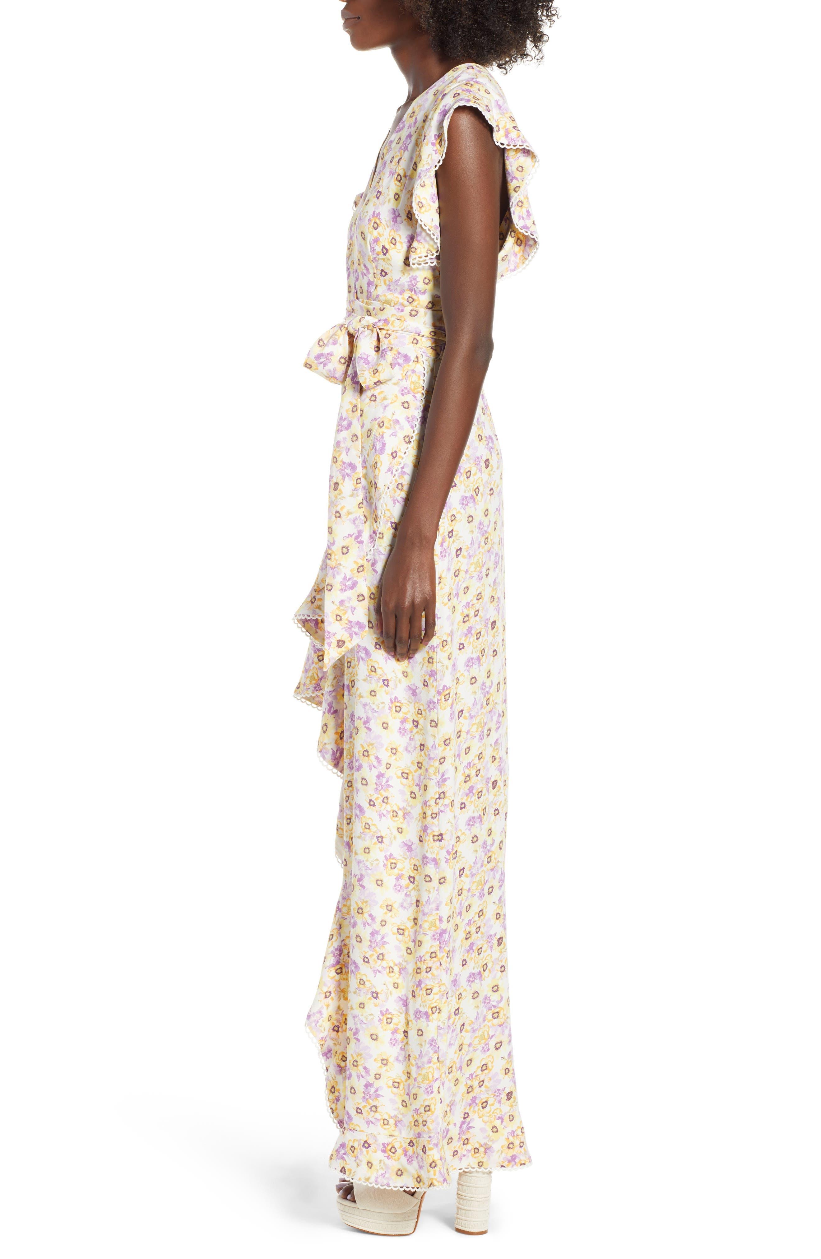 ,                             Andrea Ruffle Wrap Dress,                             Alternate thumbnail 10, color,                             700