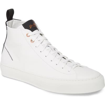 Good Man Brand Legacy High Top Sneaker- White