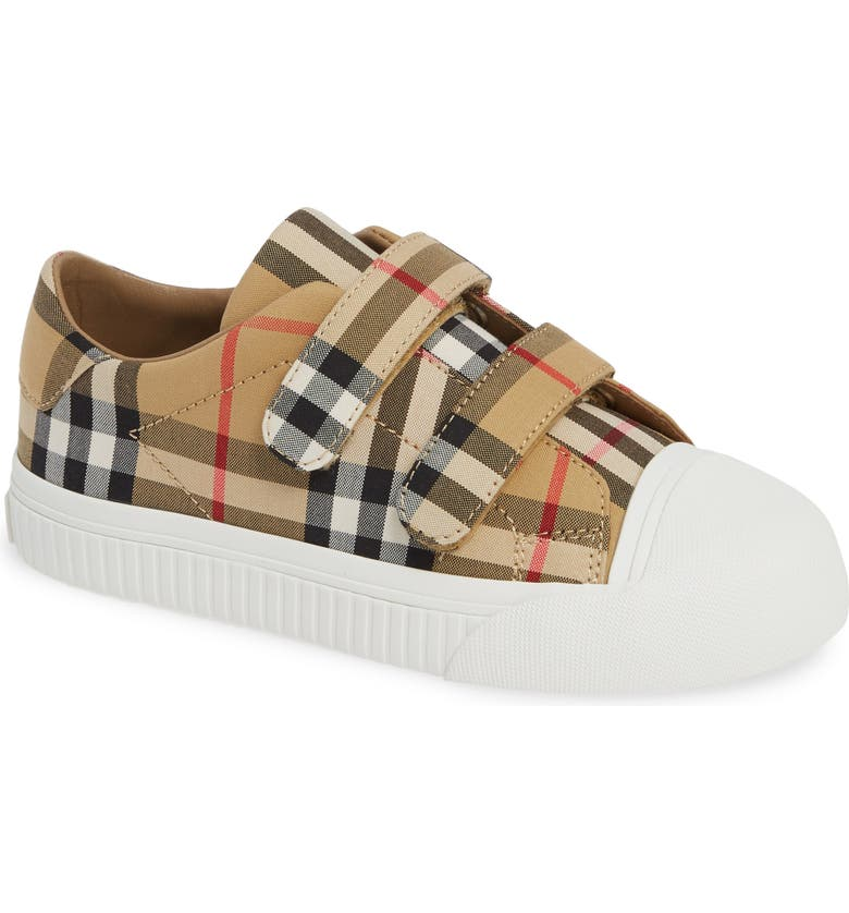 BURBERRY Belside Sneaker, Main, color, ANTIQUE YELLOW-OPTIC WHITE