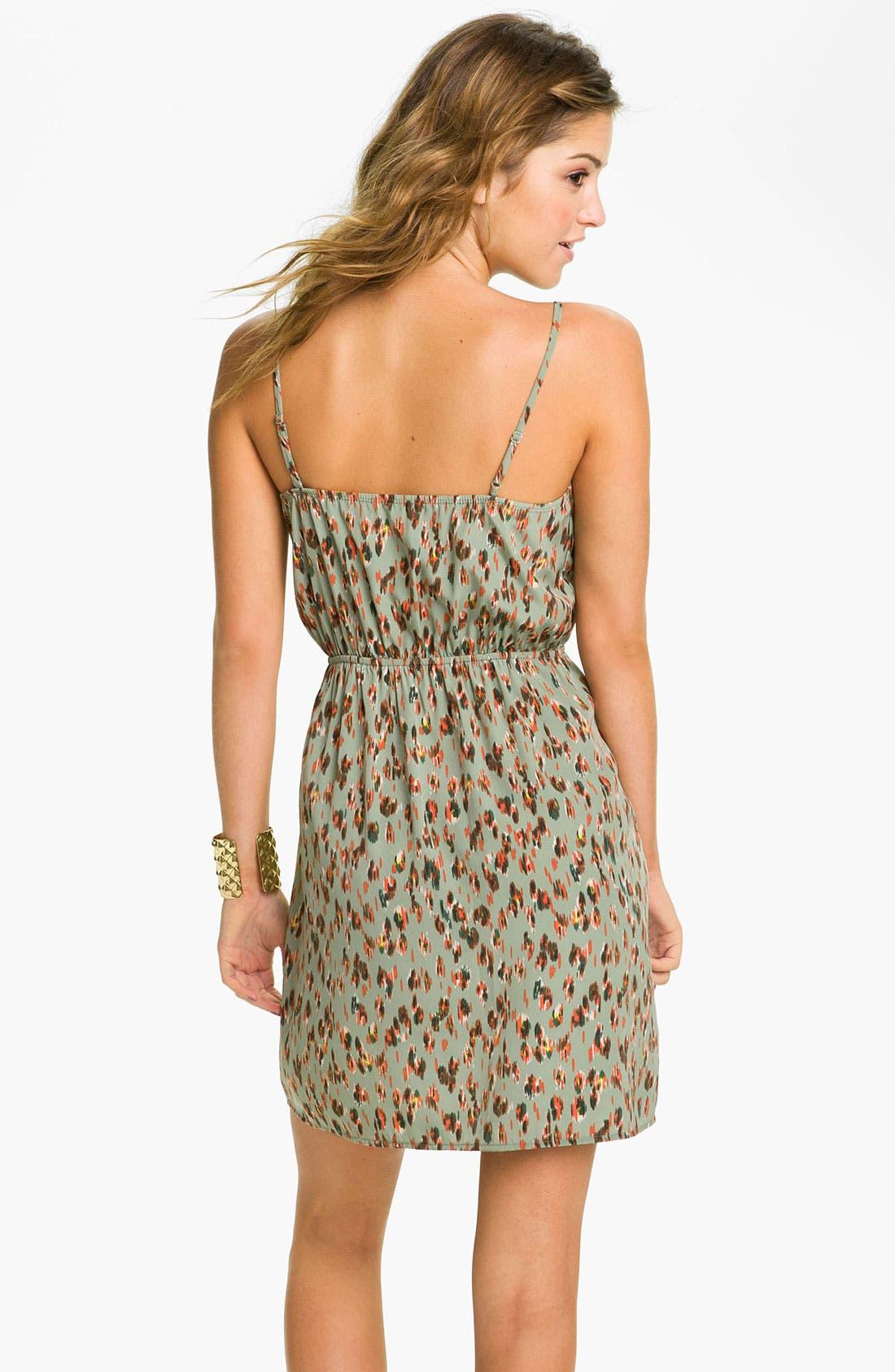 ,                             Print Dress,                             Alternate thumbnail 3, color,                             375