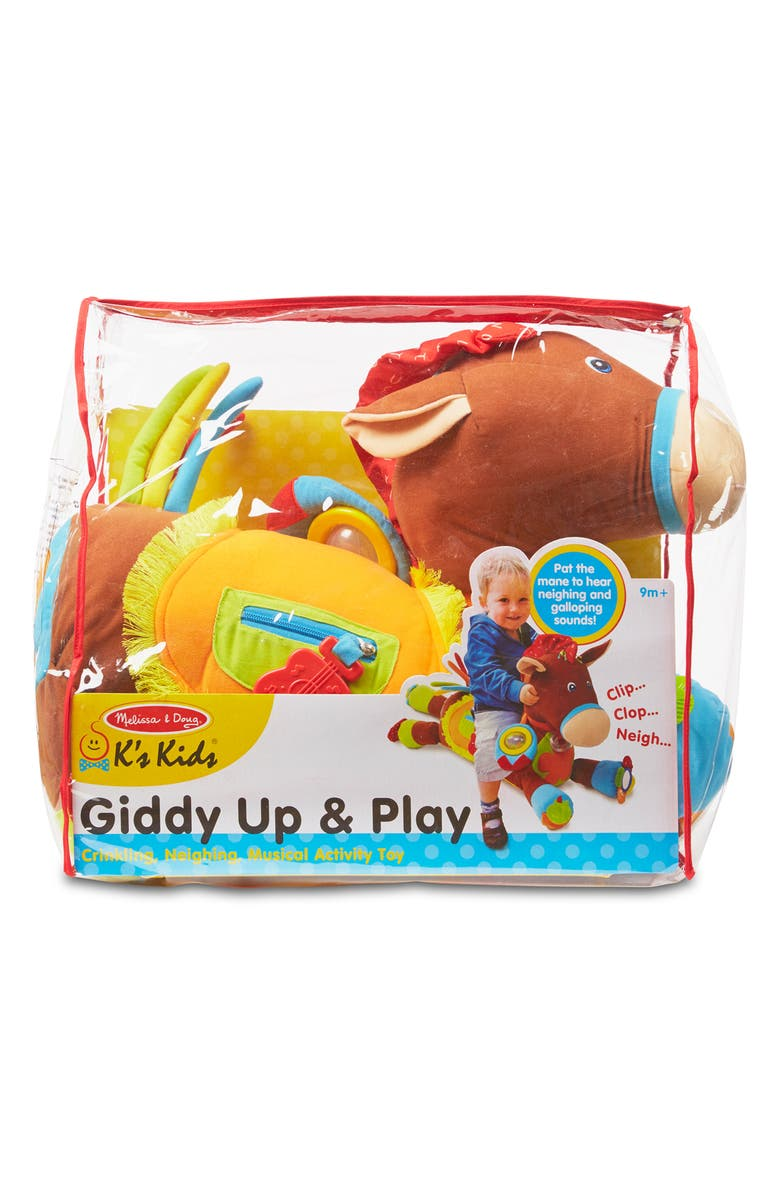 MELISSA & DOUG 'Giddy Up & Play' Activity Horse, Main, color, 200