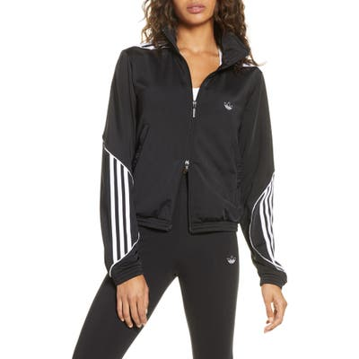 Adidas Originals Archival 3-Stripes Track Jacket, Black