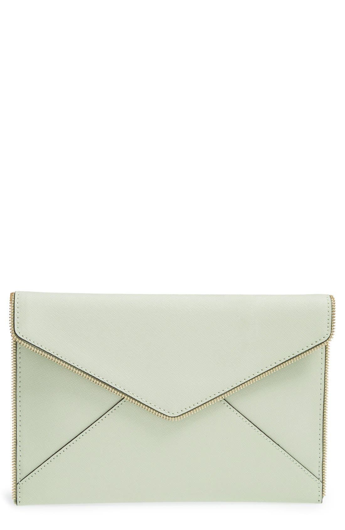 ,                             Leo Envelope Clutch,                             Main thumbnail 198, color,                             440