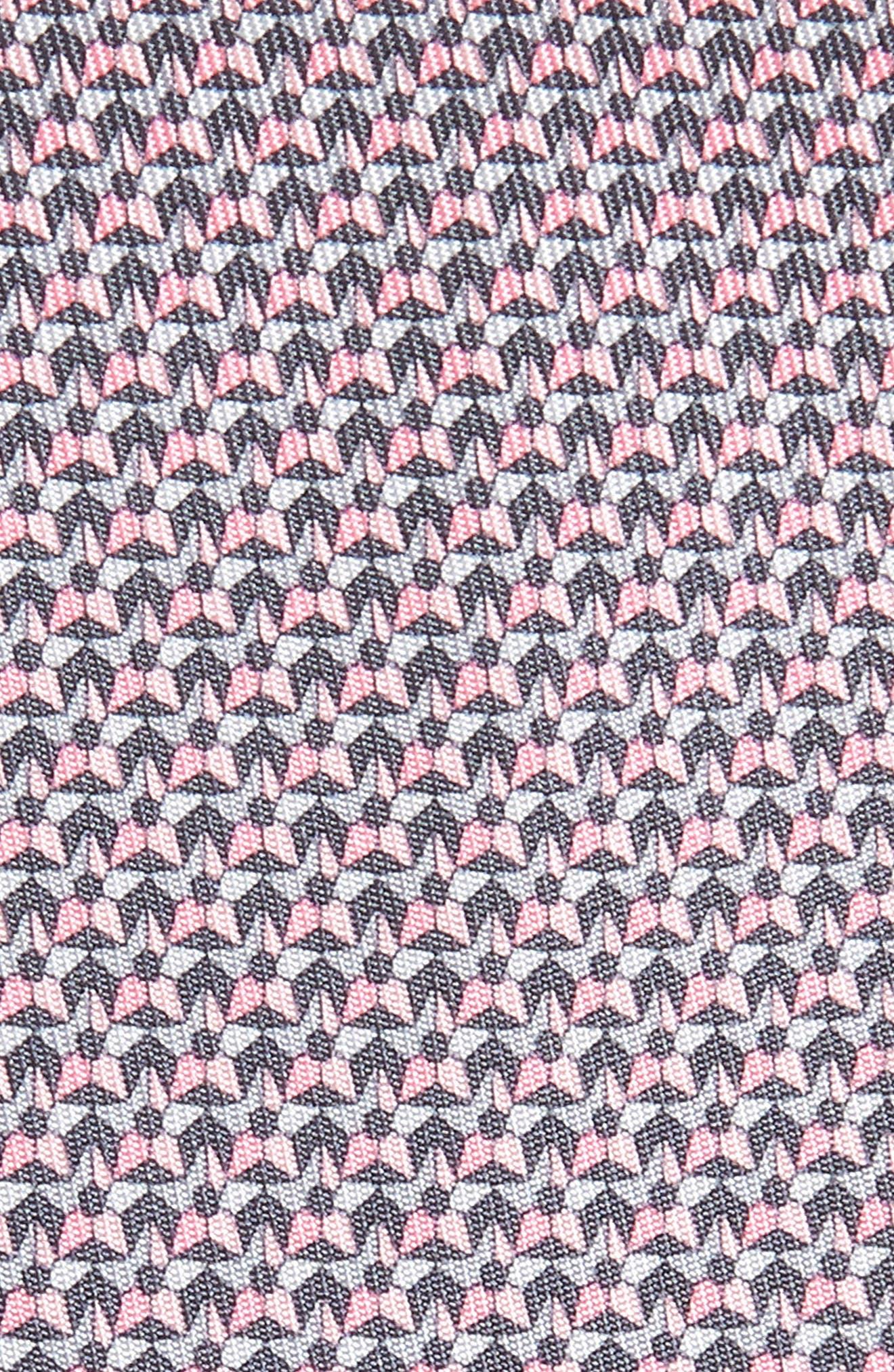 ,                             Star Print Silk Tie,                             Alternate thumbnail 2, color,                             FUMO
